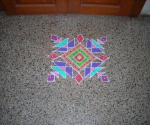 Kolam copied from ikolam website