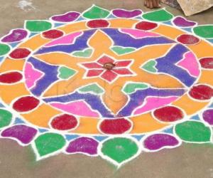 Diwali Rangoli 2009
