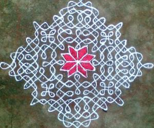 Rangoli: Sikku Kolam - 40