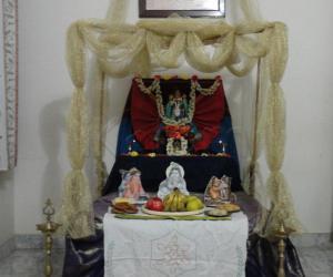 Rangoli: Janmashtami celebration at home