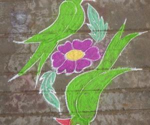 Rangoli: Jodi Killi