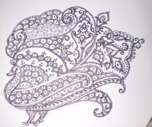 Rangoli: mehandi design