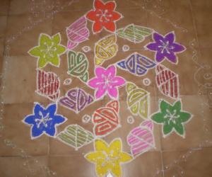 Rangoli: my rangoli 3