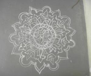 lotus kolam