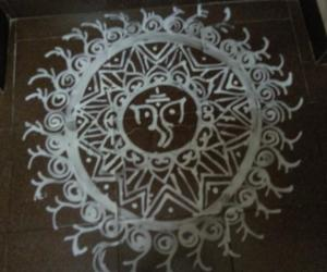 Rangoli: ganesh ji