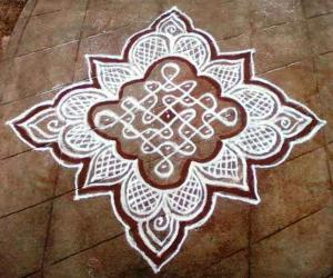 Rangoli: rangoli with dots