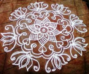 tuesday rangoli