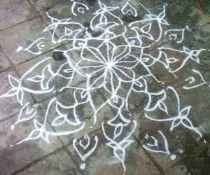 Rangoli: SUMMER VACATION KOLAM