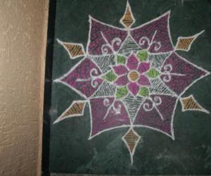 Rangoli: Experiment with Shading