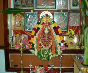 Rangoli: Varalakshmi Nombu