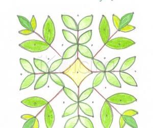 Rangoli: Curry leaves