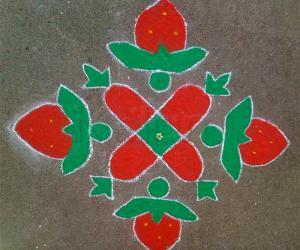 Rangoli: It's strawberry season!