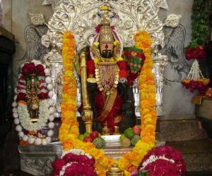 Rangoli:  Mahalaxmi Temple, Kolhapur