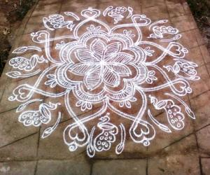 Rangoli: WELCOME KOLAM FOR THE CHENNAI MEET