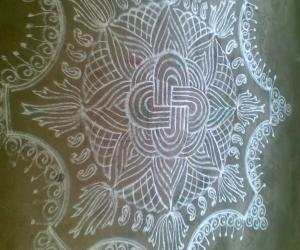 Rangoli: My first upload