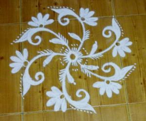 Embroidery kolam 1