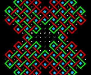sOnA square for an extended 4x3 dot pattern