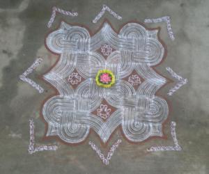Rangoli: chithirai malar