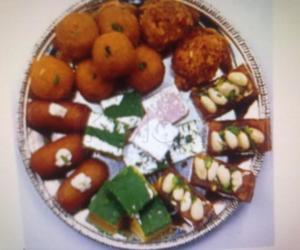 Rangoli: sweets