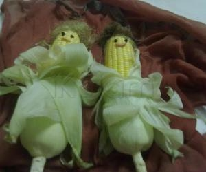 Rangoli: Corn Beauties(models)