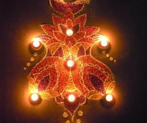 Rangoli for Diwali 2010 - Contest Rangoli