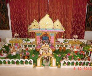 Rangoli: Mithilapuri Palace