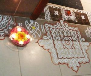 Rangoli: Navratri