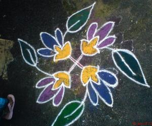 Rangoli: Kutties Kolam