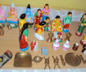 Rangoli: My House Golu (Part - II)