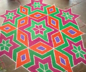Rangoli: Rangoli for Deepavali Contest 2010