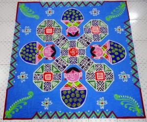 Rangoli: Thank you Ikolam (dotted)