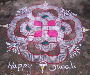 Diwali Special Kolam