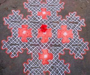 Rangoli: Sikku Kolam - 66
