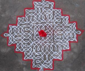Rangoli: Sikku Kolam - 76