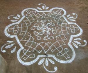 margazhi dew drops kolam contest 2011