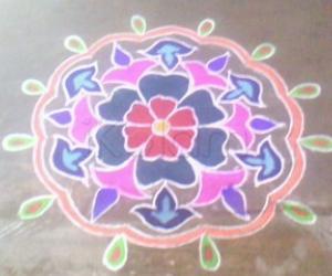 rangoli-flower