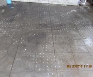 Rangoli: dot grid for margazhi contest 2011