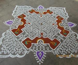 kolam for margazhi contest 2011