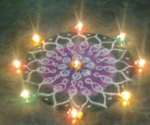 Rangoli: Diwali 2009-Day2