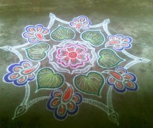 Rangoli: Navrathri Special - V