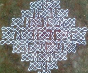 Rangoli: Sikku Kolam - 54