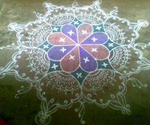 Rangoli: Marghazhi Kolam - 21