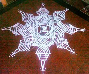 Thiruvathira Kolam