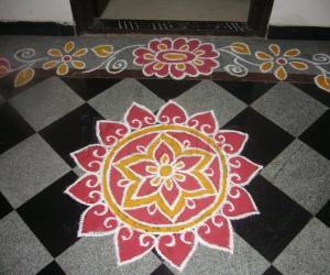 Rangoli: Ugadi muggu