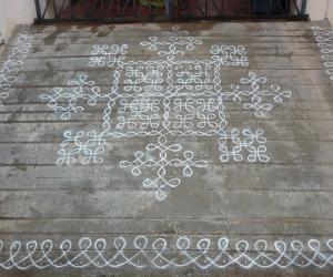Rangoli: My Navarathri Kolam