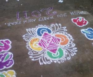 Rangoli: Happy New Year!
