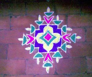 Diwali rangoli - contest