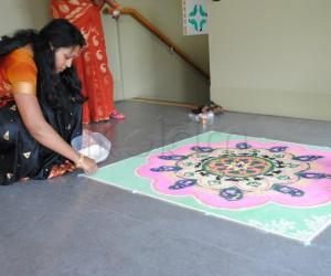 Rangoli: Rangoli display in Dublin(3)