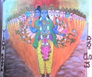 Rangoli: Painting 2
