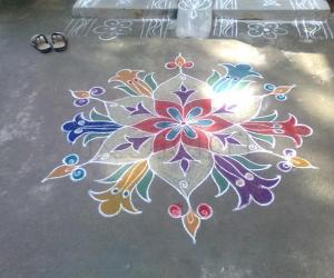 Rangoli: Pongal Celebrations